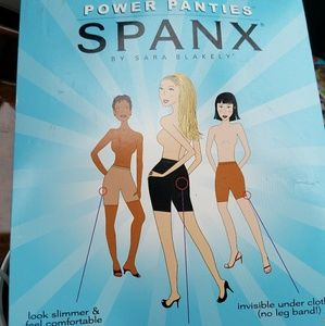NEW Spanx Power Panties Size C  Nude/Bare